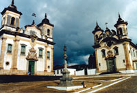 Portuguese church from 16th century in Brazil