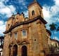 16th century South American stone church in Ouro Preta, Brazil