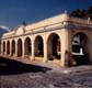 Public laundry building in Antigua, Guatemala